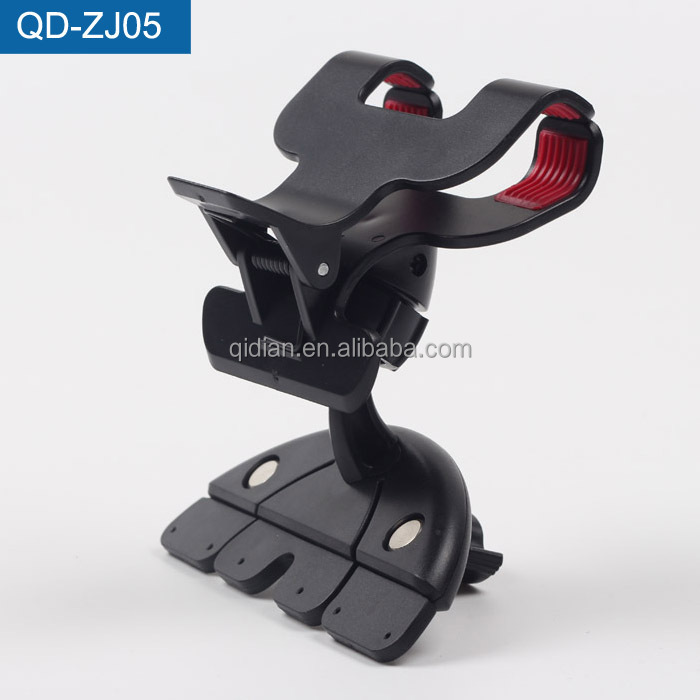 Stable Car CD Slot Mount, Grip Clip Car Headrest Mount Portable DVD Player For iPhone 6s