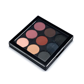 2019 Popular Matte Custom Eye Shadow Pallet with Color Box 9 Colors