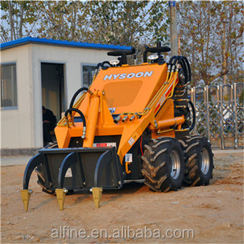 Hot selling 200KG rated load mini skid steer loader
