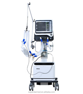 S1100B Hot Seller Medical Breathing Equipment Featured-ICU Ventilator adult, pediatric and neonatal for ICU and NICU