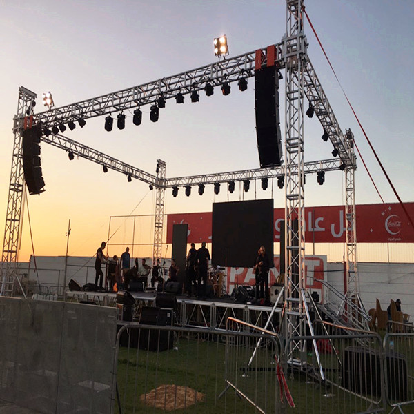 Hot Selling Portable Stage Truss Aluminum Light Spigot Truss for the stage