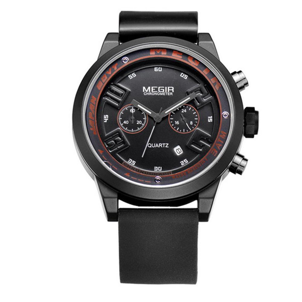 165c3fc7f338 Get Quotations · Watches men luxury brand Megir sport relojes reloj hombre  relogio masculino quartz watch relogios montre homme