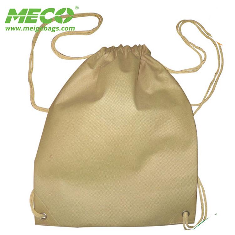 Wholesale PP Non Woven Drawstring Backpack Children School Bag