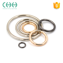 Fashion hardware fittings 0 shape metal ring buckle