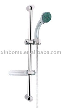 Shower Rail Set XBM-3040C Bathroom Good Quality Stailess Steel Shower Rod Shower Sliding Bar