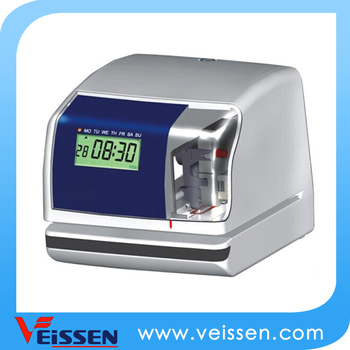 Electronic Time And Date Stamp Machine Vs Dt10 Printing