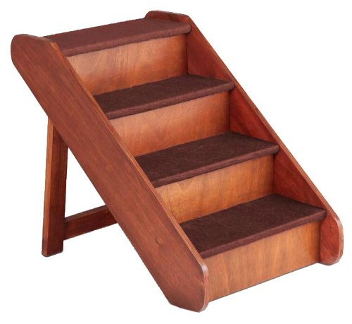 Beau Get Quotations · Solvit PetSafe PupSTEP Wood Pet Stairs, X Large, Foldable  Steps For Dogs And