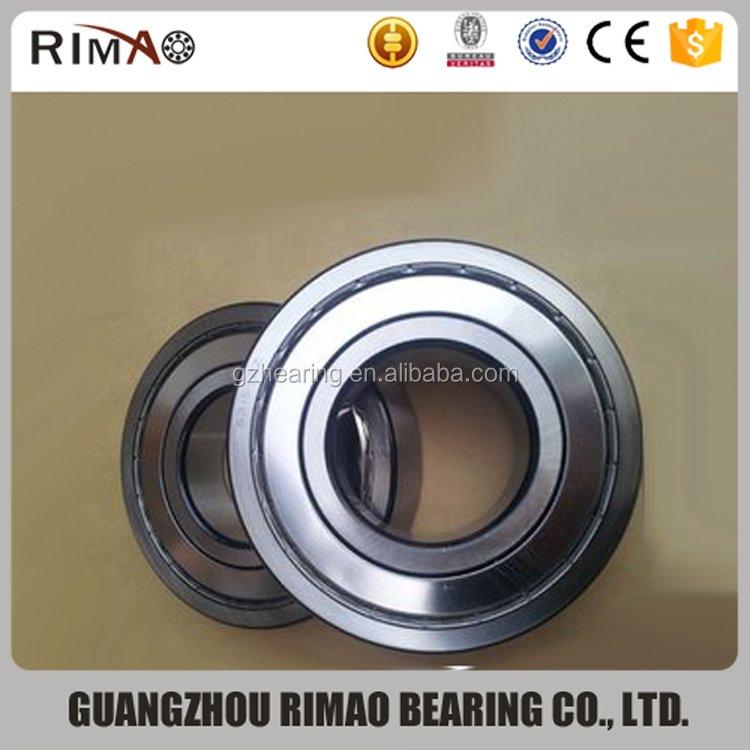 China rolamentos 6006 2rs 6006ZZ motorcycle engine deep groove ball bearing, ball bearing price list