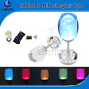 art lamps desk light wine glass shape 2W docoration battery powered RGBW milight