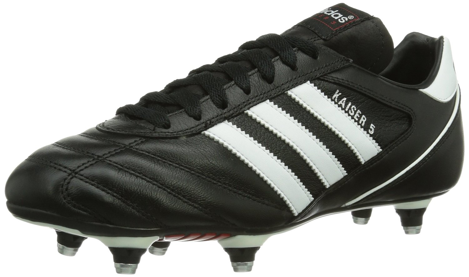 outlet store 74574 684c7 Get Quotations · adidas Kaiser 5 Cup SG Football Boots - Adult -  BlackWhite - UK Shoe