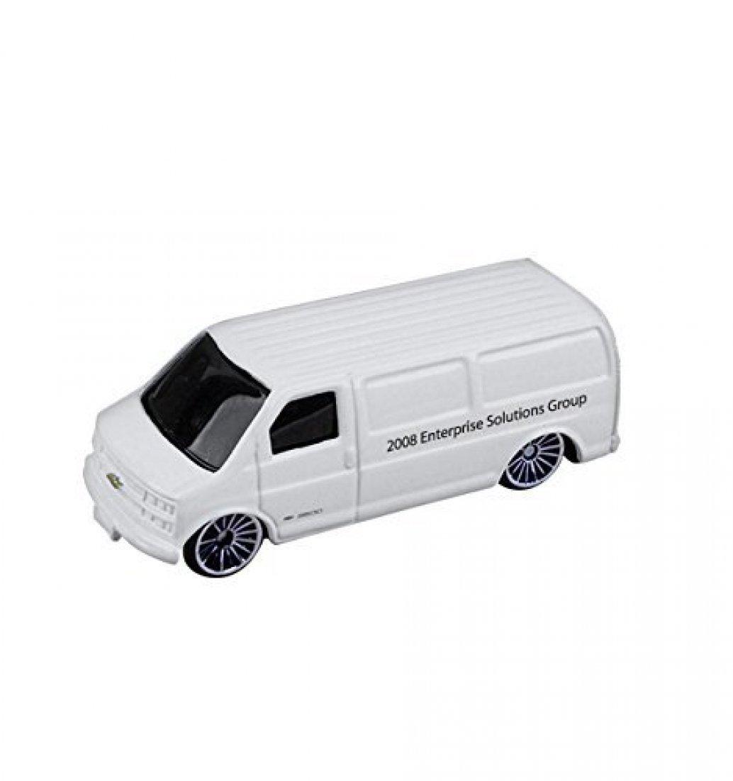 1/64 Scale Chevy Cargo Van - White
