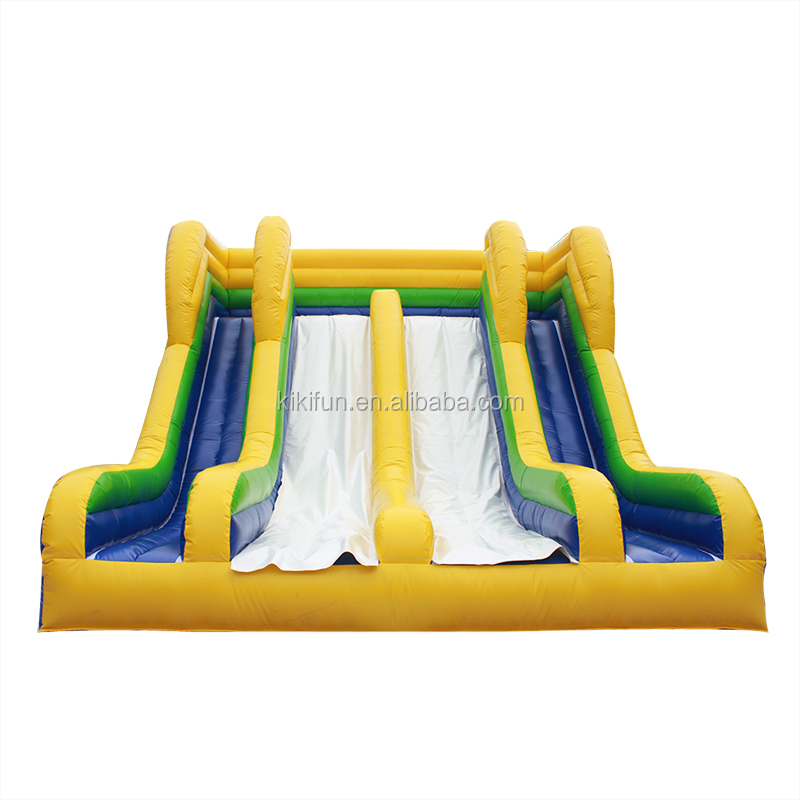 Large outdoor & indoor playground toys equipment toddler slides prices / custom logo inflatable dry slides for kids and adults