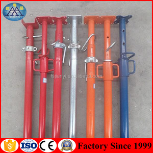 Q235 Painted Steel scaffolding construction Telescope push-pull standard prop