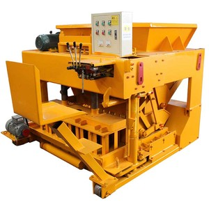 FL6-30 china alibaba egg layer house construction vibrating hollow concrete block machine