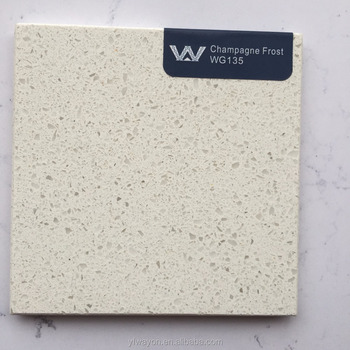 classical white quartz(engineered) stone factory-classical white- WG135