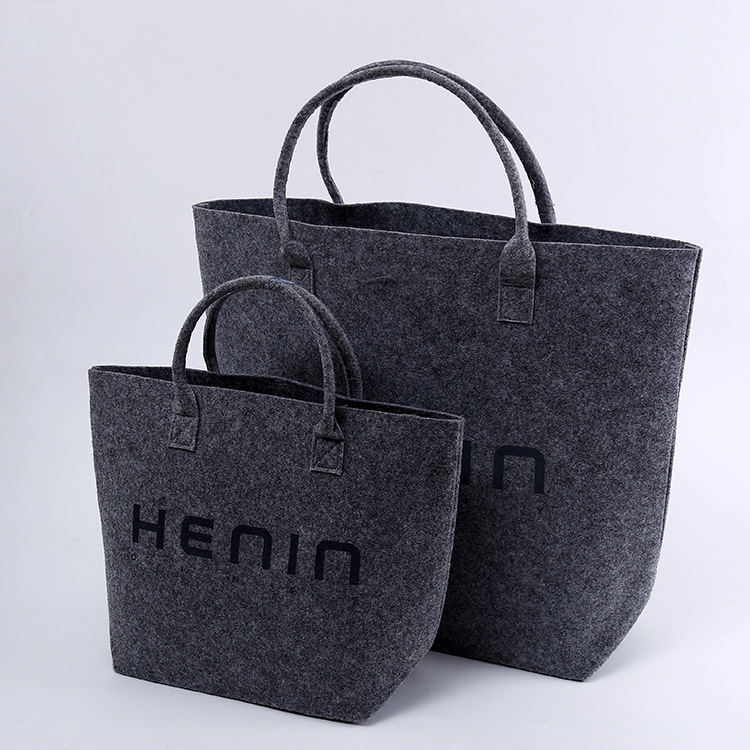 Women Fashion Customized Designer Ping Felt Tote Bag Product On Alibaba