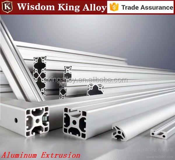 Serie 6000 t ranura de muebles de aluminio extruido for Perfiles aluminio para muebles