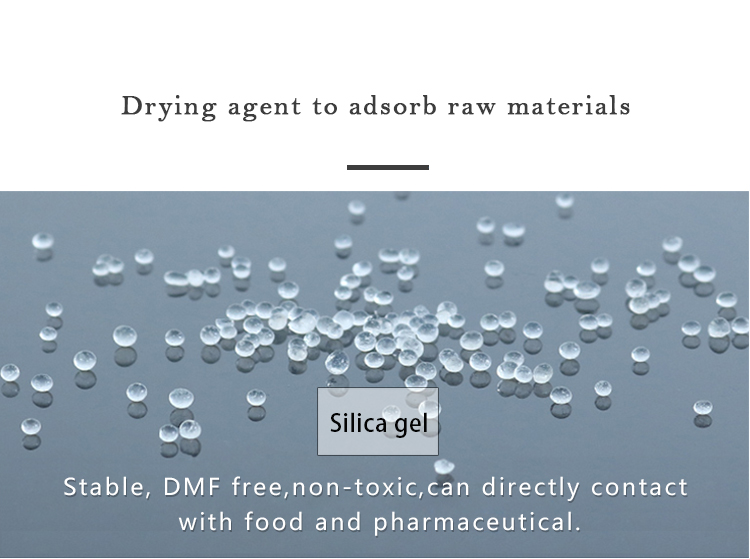 Top Silica Gel Dsiccant Absorbing Moisture And Odors From Packaged Products Preventing Mold