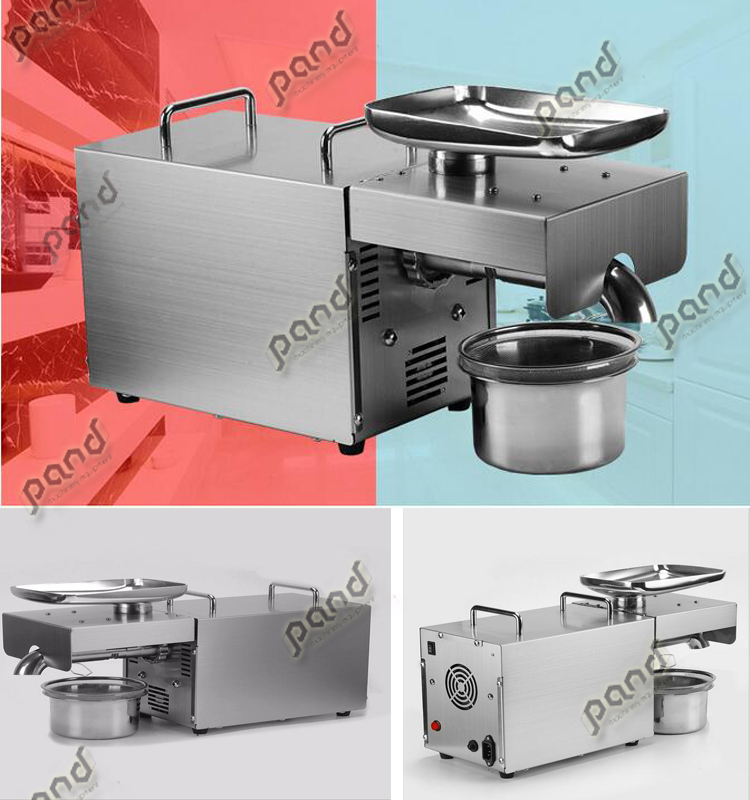 small household heavy duty Cold Press Oil Machine/black Seed soybean oil production machine