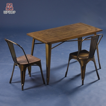 Charmant (SP CT676) French Industrial Table Chair Commercial Cafe Furniture