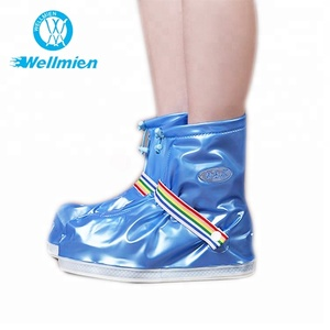 Colorful Disposable Plastic PVC Waterproof Rain Boot Covers for Walking