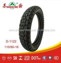 Tires manufacture's in china hot sale high quality motorcycle tire 110/90-16