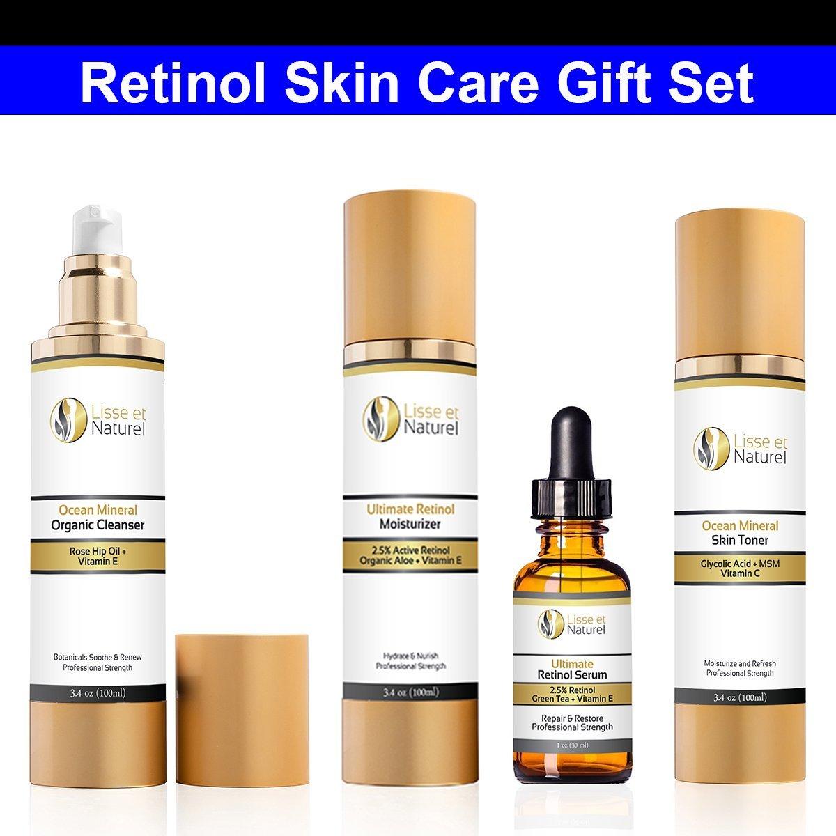 Lisse et Naturel Retinol Skin Care Gift Set