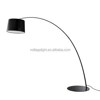 Modern Foscarini Twiggy Carbon Steel Standing Floor Light High ...