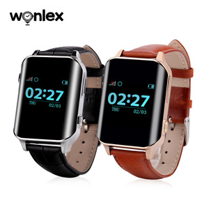 Wonlex android gsm gps kids security smart watch EW200/heart rate gps watch phone