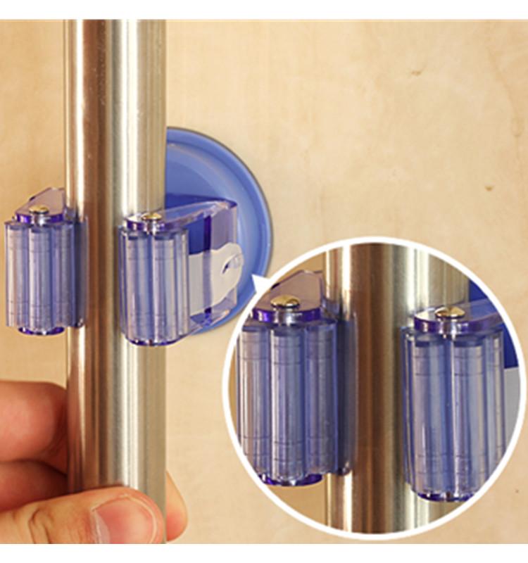Garage Kast Keuken Muur Bezem Mophouder Tuingereedschap Organisator Buy Multifunctionele Cupule Elastische Klemmop Clip In Het Dagelijks