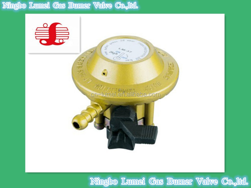 aluminum connector low pressure gas regulator with ISO9001-2008