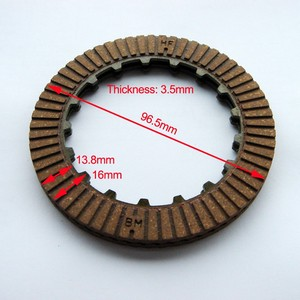 CD 70 JH70 motorcycle paper base clutch disc plate