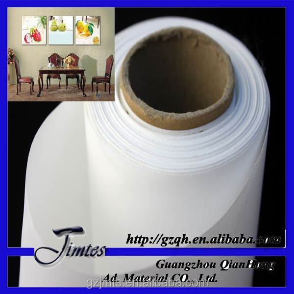 280gsm polyester afdrukken canvas matt canvas rolls
