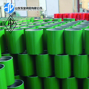 API 5CT 4-1/2 EUE casing coupling for OCTG