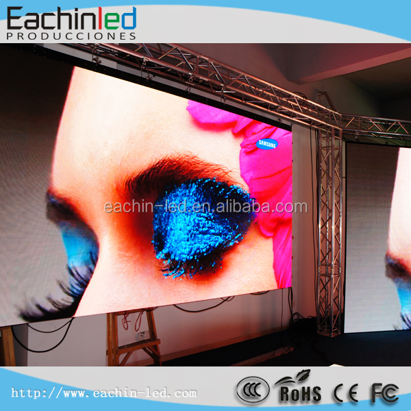 Alibaba <strong>express</strong> supply indoor stage background P5 p6 LED display screen