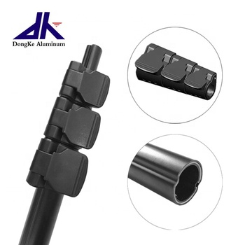 Aluminum Extension Pole With Flip Lock/Clamp