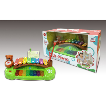 Classic Musical Play Set Kids Toy B/O Interaction Knock Piano