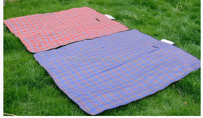 Promocional plegable de picnic manta alfombra de picnic port til al por mayor barato estera - Manta de picnic ...