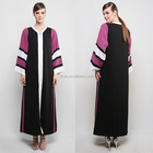 Fashion moroccan kaftans for women latest front zipper abaya designs