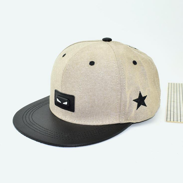 Custom 6 panel soft unstructured flat bim <strong>hat</strong> with woven label patch