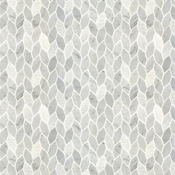 Carrara White Carved Marble Tile White Marble Floor Tile