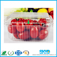 Safety and environmental protection disposable plastic strawberry containers