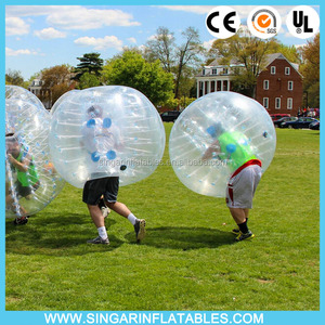 Best sale! CE standard 1.0mm TPU/PVC inflatable human soccer bubble,inflatable fighting ball,bubble balls for sale/ rental