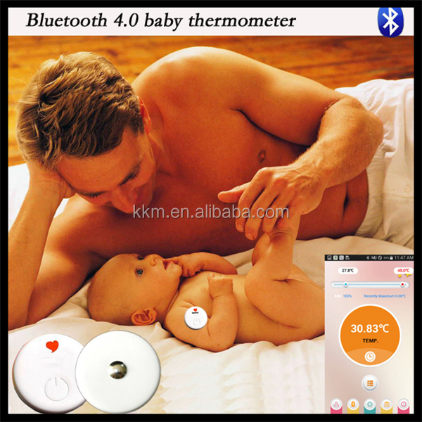2015 Newest Product Smart thermometer Monitor Your Baby's Temperature Continuously and Remote control by App