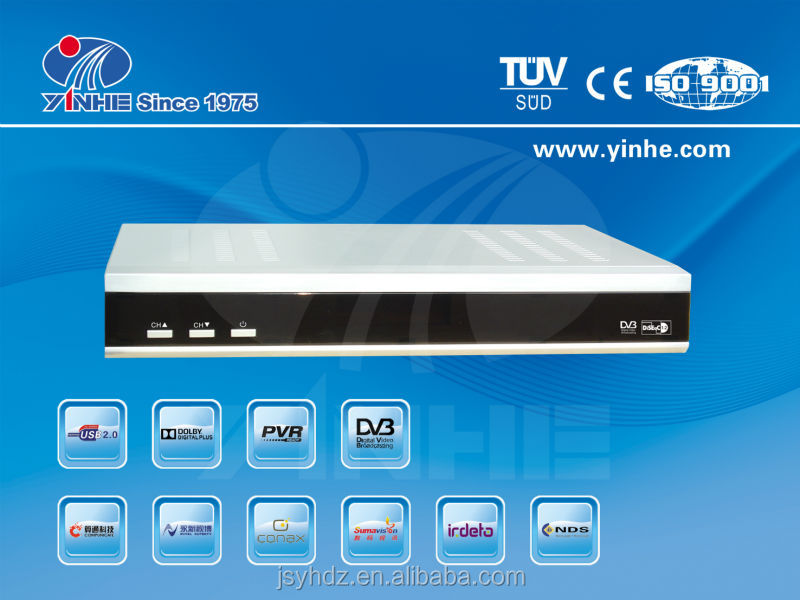 IRDETO CAS HD Combo Digital Satellite Receiver Korea