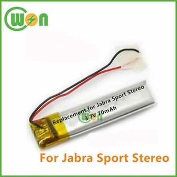 9c701698c97 Wireless Headset Battery for Jabra Sport Stereo Replacement Battery 3.7V  70mAh