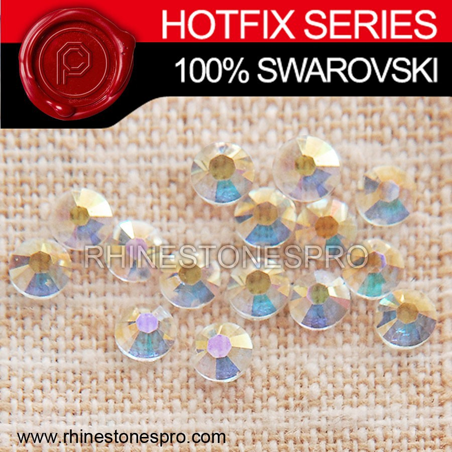 Swarovski Elements Jewelry Transparent transmission Hotfix (TRAN) 8ss Crystal Iron On Stone