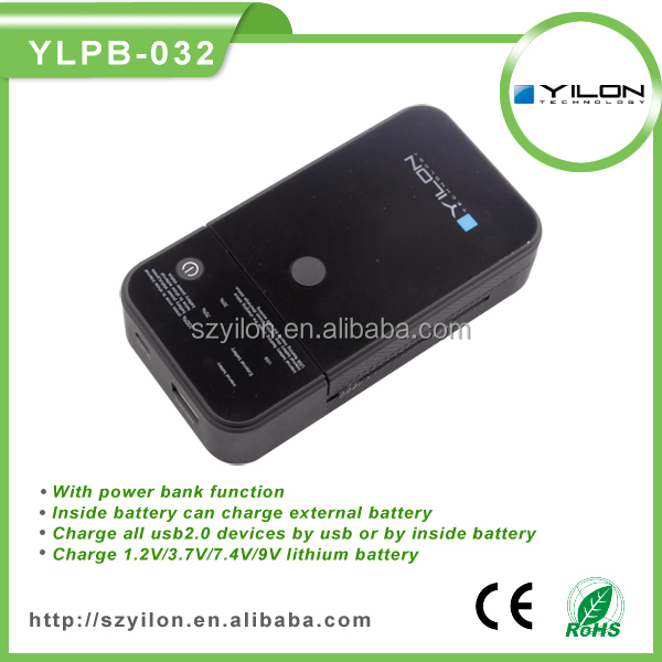 5000mAh power bank emergency mobile phone charger using aa battery