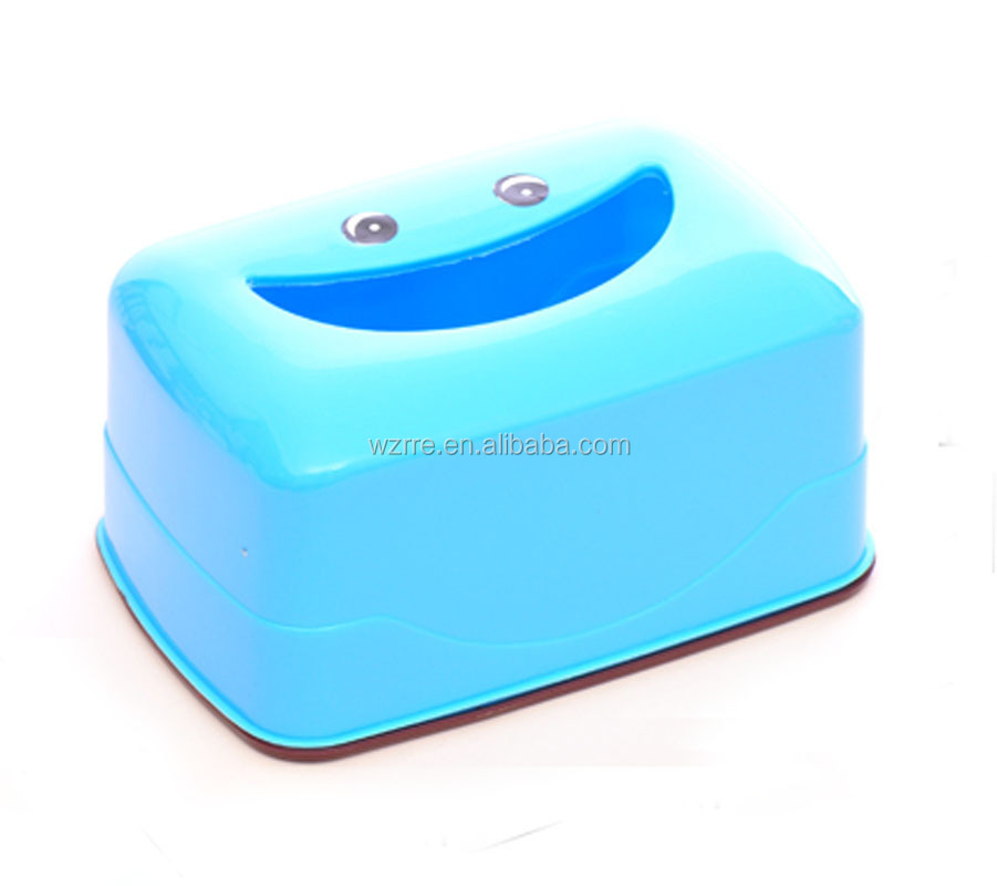 Smile design clear plastic box,wood bar metal plastic acrylic napkin holder