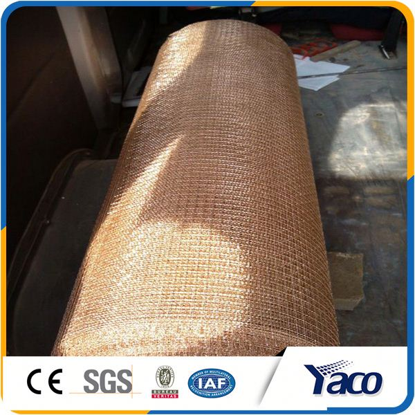 60x60 Copper Conductive Woven Wire Mesh Netting